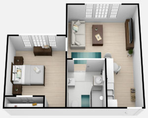 The Lodge at Stephens Lake   One Bedroom A